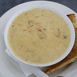 Carriages seafood chowder