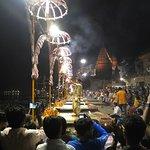 Arati at Dasaswamedh Ghat Varanasi