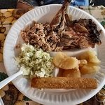 Barbecue plate