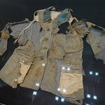 School uniform scorched by the A bomb