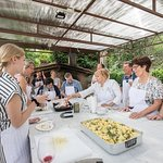 Cooking Class and Lunch at a Tuscan Farmhouse with Local Market Tour from Florence (329648135)