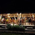 Warung Titi after dark