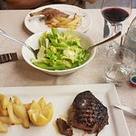 Secondo (main course in Italian), fillet and duck