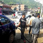 Gas filling: From Kathmandu to Pokhara