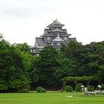 Okayama Castle, towering over Korakuen Garden, Okayama