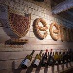 Veeno Croydon bottles and corks display