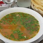 big plate of soup