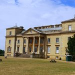 The back of Croome Court