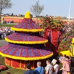 flower parade that happens once a year