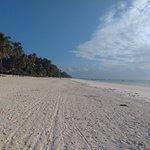 view on Paje Beach