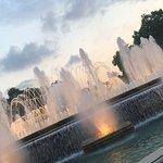 魔法喷泉照片