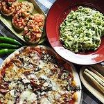 Pizza, Tagliatelle e Bruschette