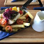Pan fried Hake - Catch of the Day