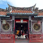 The Exterior of the Cheng Hoon Teng Temple