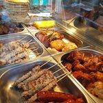 Souvlaki Chicken and Pork