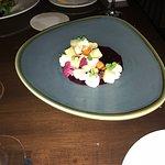 Beet salad with yummy veggies