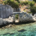 Фотография Sunken City Ruins of Simena