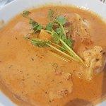 Fisk- og skalldyr suppe