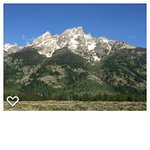 Another view of the Grand Tetons in July