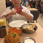Copper Chimney : Nice place to have North Indian food. Must visit for people visiting mustafa for shopping. Birya