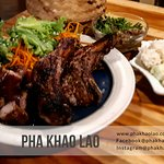 Pha Khao Lao Mix Grill Promotion