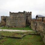 Castello templario di Ponferrada: la spianata interna.