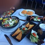 This was the Meze after the starters