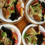 Delicious pita sandwitches mix and match your favorite