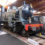One of the many superb French locomotives at the Cite du Train