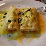 Canelone 4 queijos