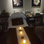 Relaxation room and treatment room