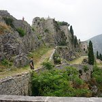 This is a picture of Klis fort. This structure appeared in several scenes, with CGI enhancements