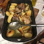 Pekka is a Croation dish of meat and vegatables slow cooked under a metal lid with hot coals.
