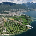 Aerial picture: Ascona - Locarno is such a wonderful place, don't miss it!