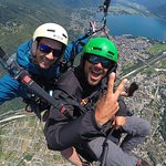 Enjoy your paragliding experience: we fly 20..60 minutes depending on weather conditions!
