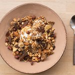 Dried fruits granola