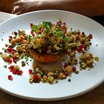Butternut squash with pulses
