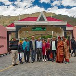 Our Group at the Kargil War Memorial