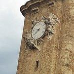 Detalle del reloj de la torre