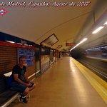 Metrô de Madrid, Espanha