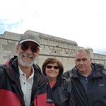 #NurembergToursinEnglish with #HappyTourCustomers at Zeppelin Field VIP rostrum