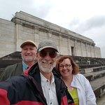 #NurembergToursinEnglish with #HappyTourCustomers at Zeppelin Field