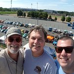 #NurembergToursinEnglish with #HappyTourCustomers on the Zeppelin Field VIP rostrum