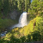 Sahalie and Koosah Fallsの写真
