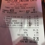 Foto American Indian Cafe