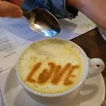 Check out the Turmeric Coffee Latte, so good and full of LOVE!