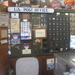Working Post Office inside of the Mast Store