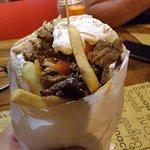 Gyros Classico più patate fritte