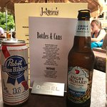 Beer & Beer Menu