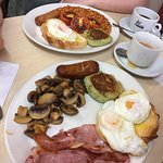 Full English breakfast- pictures do not do it justice!
